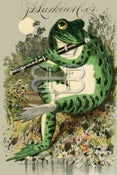 Image of Larkin - Frog Playing the Flute