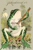 Image of Larkin - Frog Playing the Banjo