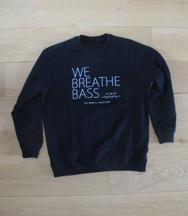 Image of We Breathe Bass - White on Black
