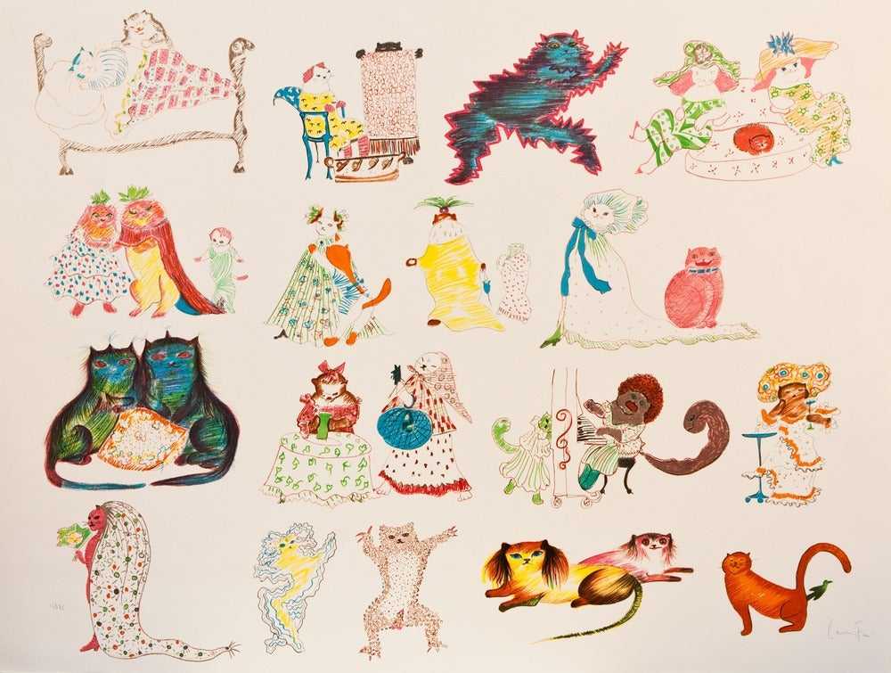 Image of 29 chats et un oiseau