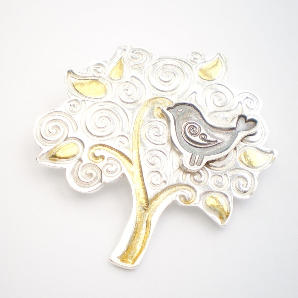 img brooch pearl tree palm and