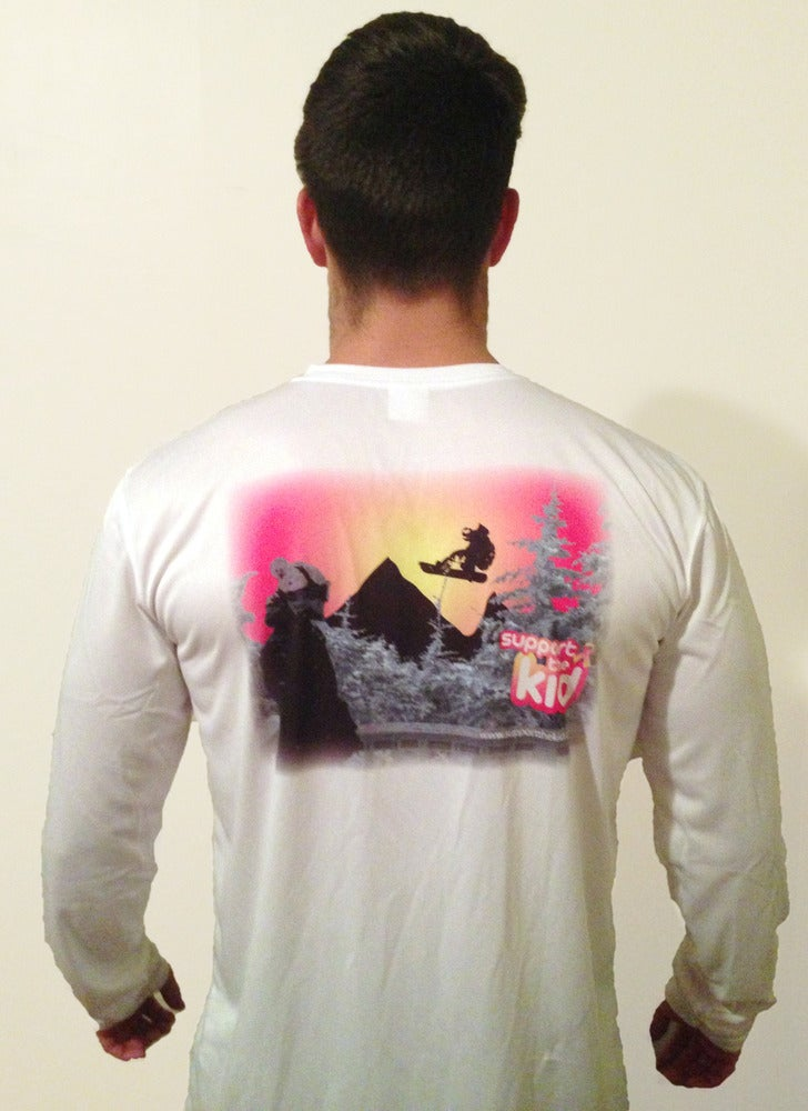 Image of Unisex Snowboarder Micro Performance Long Sleeve