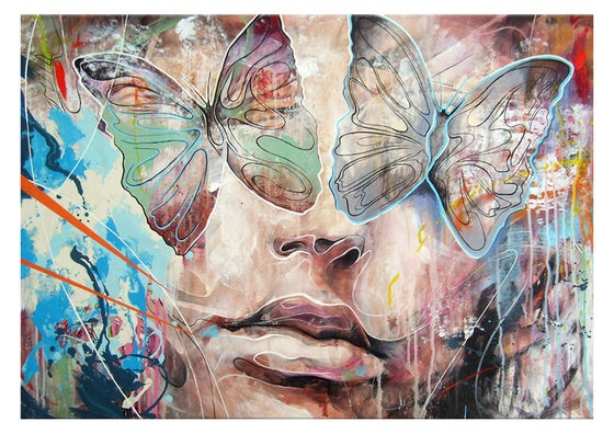 """Image of """"Visions Of Summer"""" OPEN EDT PRINT on 315gsm 100% Cotton Rag Paper"""