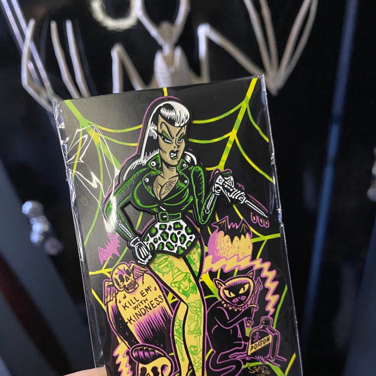 Psycho-Bettie pin by SolRac