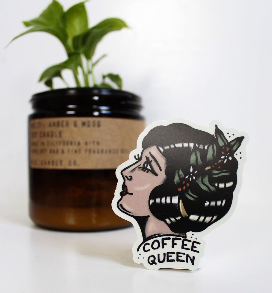 Image of Coffee Queen Sticker