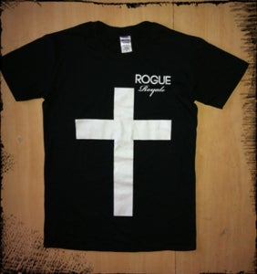 Image of Rogue Royale Cross Tee (Black)