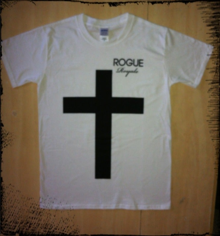 Image of Rogue Royale Cross Tee (White)