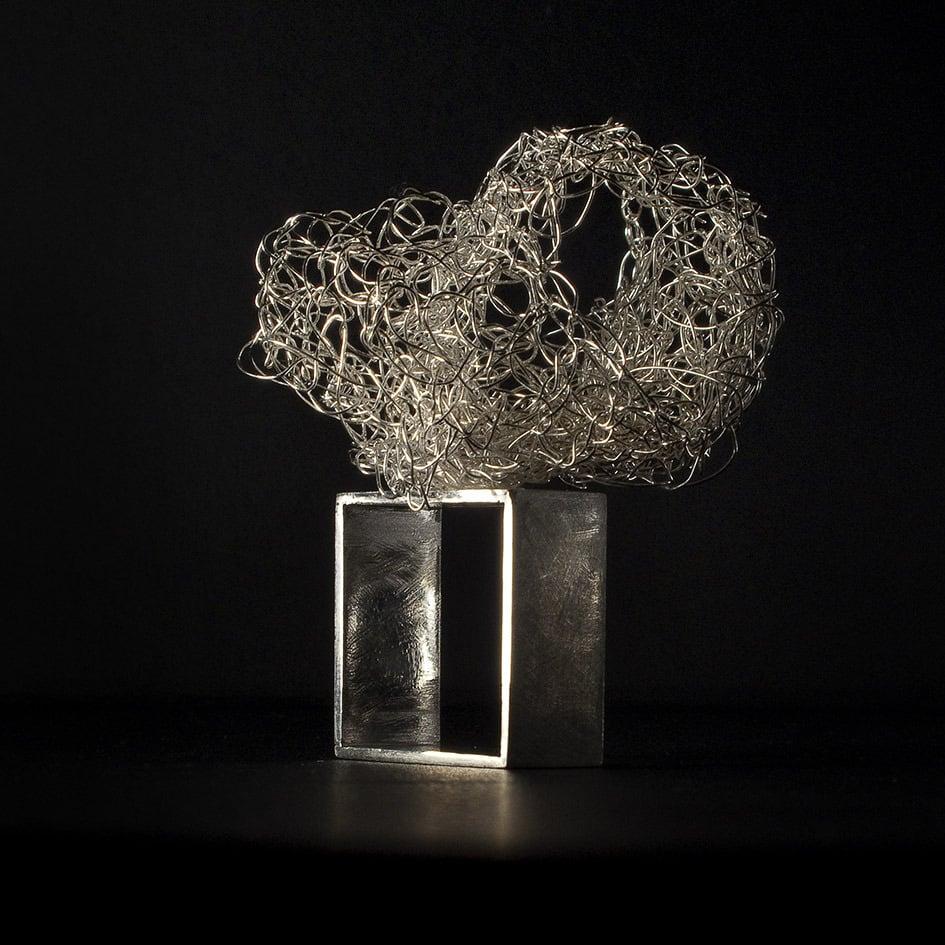"""Image of Collezione """"Aracne e Atena"""" - Ring squared shape"""