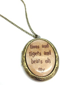 Image of Wizard of Oz Inspired Lockets