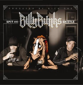 "Image of BILLY BUNKS ""Spit And Gristle"" CD"