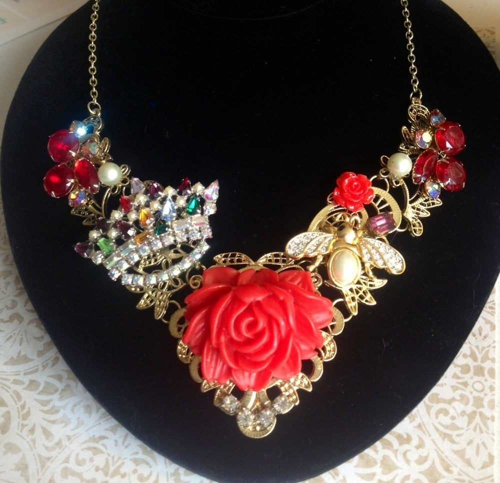 Image of Queen of Hearts Necklace