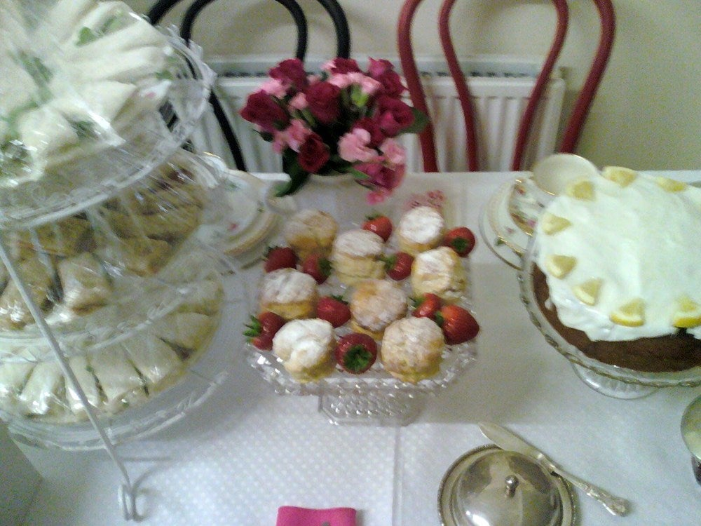 Vintage Rose Catering Vintage Rose Tea Party Club 29th July 2o13