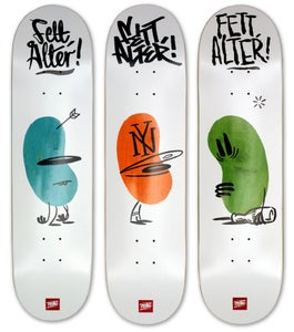 Image of FETT ALTER skateboard decks