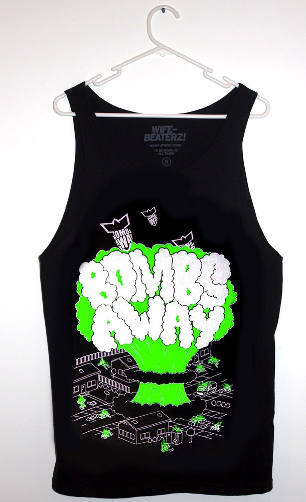 "Image of  Bombs Away Singlet - ""City Bomb"" black"
