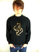 Image of Bullet Train - Black Sweatshirt - Gold Foil Logo - Limited edition