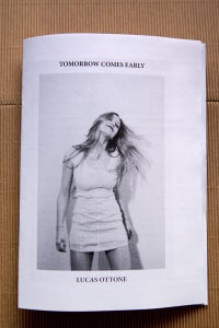 "Image of Lucas Ottone ""Tomorrow comes early"""