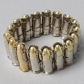 Bullet Bracelet Bang Copper Silver Rose And Yellow Gold Engineered By Pow