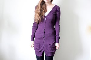 Image of Purple Cardigan