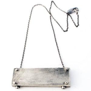 Image of medium horizontal necklace - SHORT