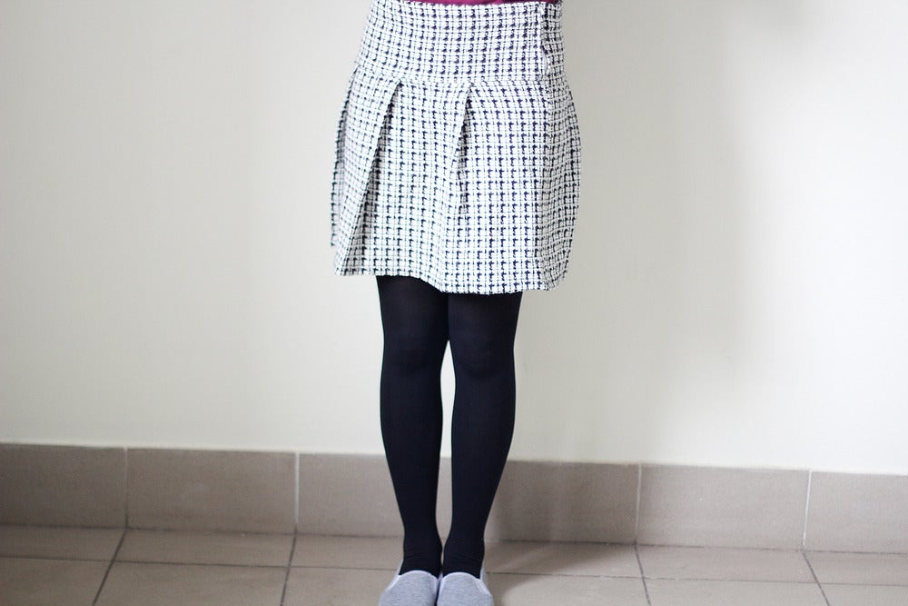 Image of Monochrome Skirt