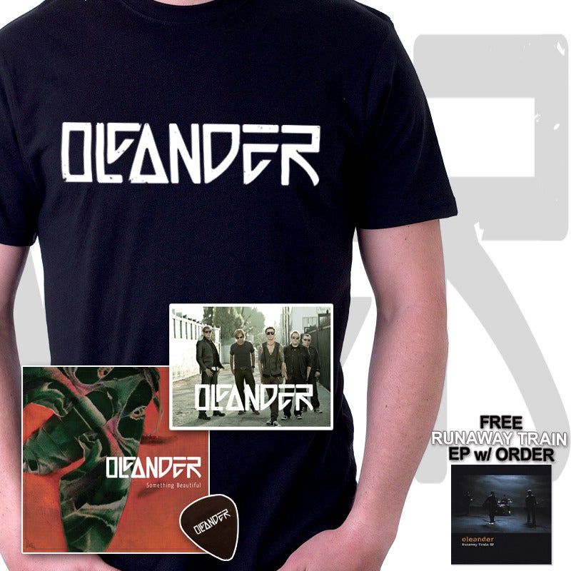 Image of CD + Shirt + Photo + Pick Package