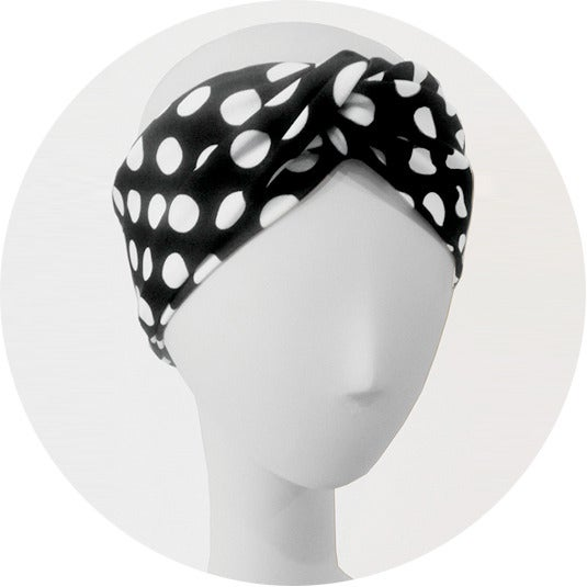 Image of POLKA DOT TURBAND