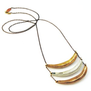 Image of Triple Arc Necklace
