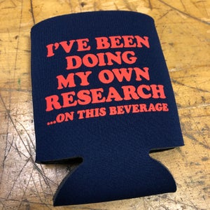 Image of Research - koozie