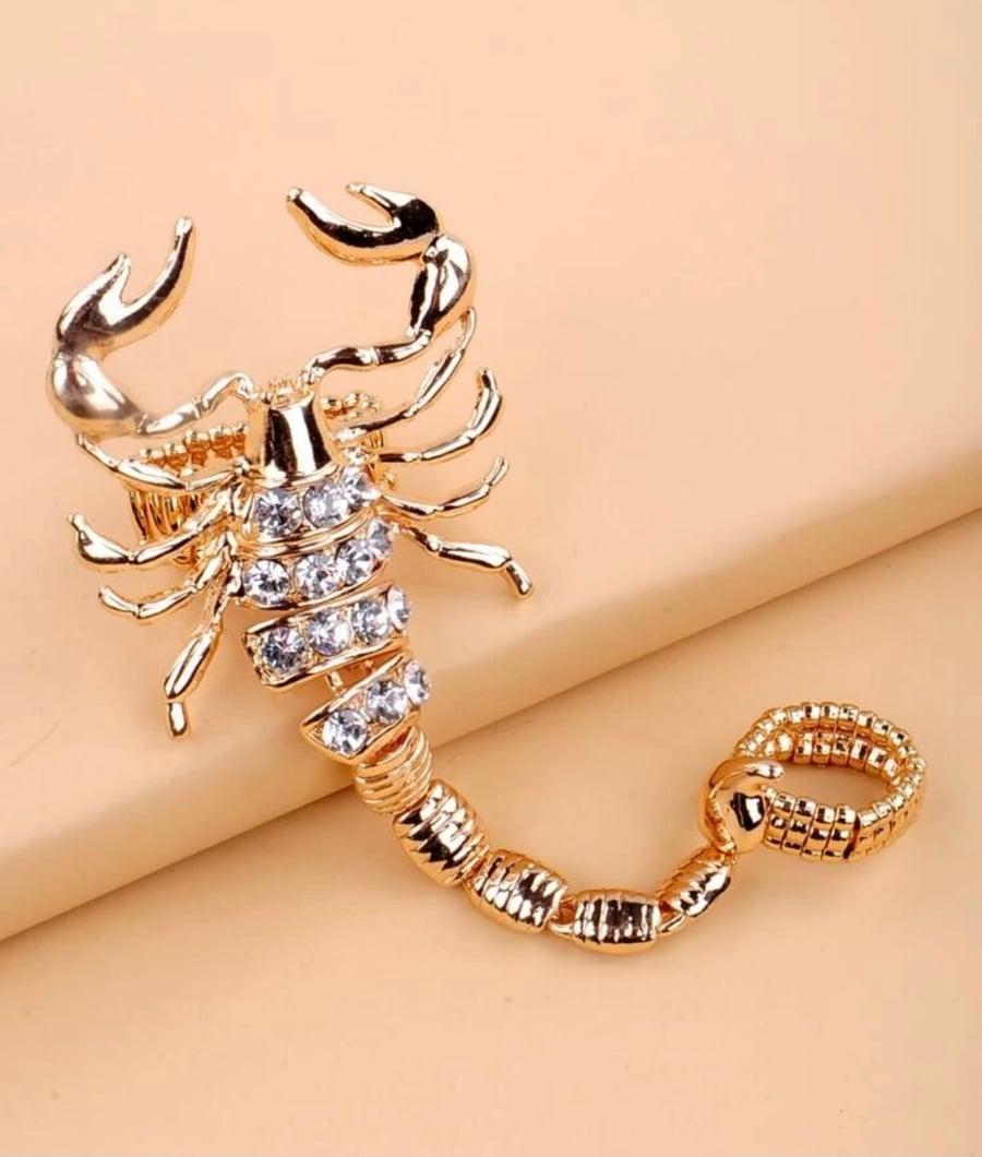 Image of Scorpio ring