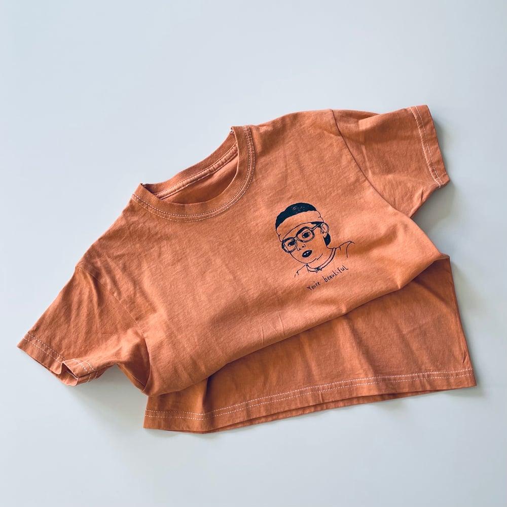 Beautiful T-shirt in Orange