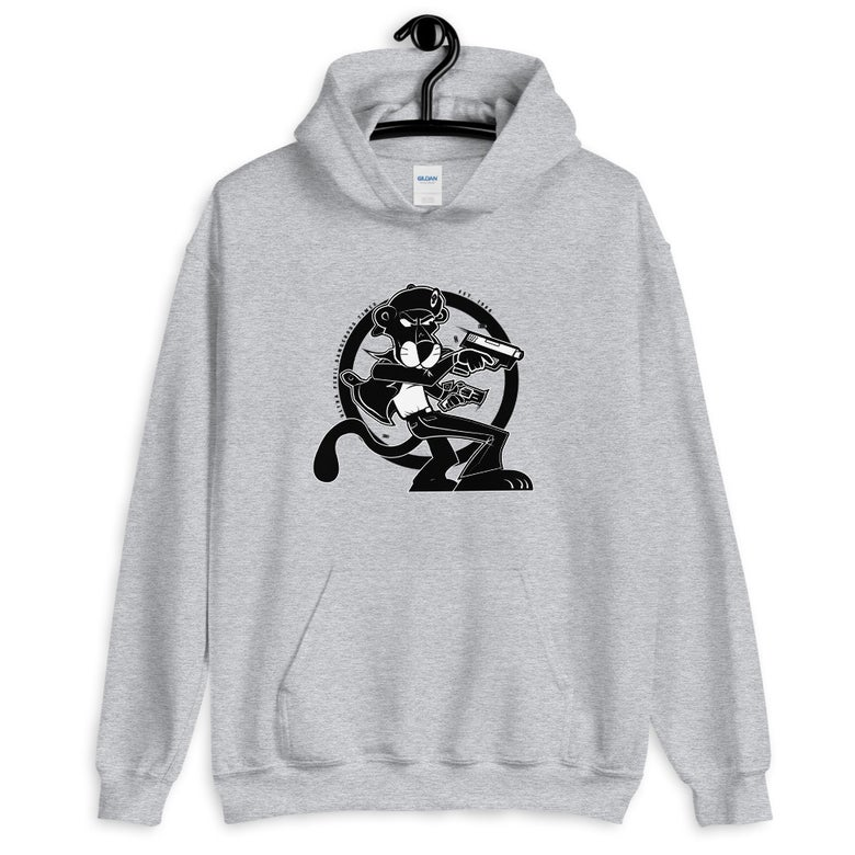 Image of Black Panther unisex pullover(grey)
