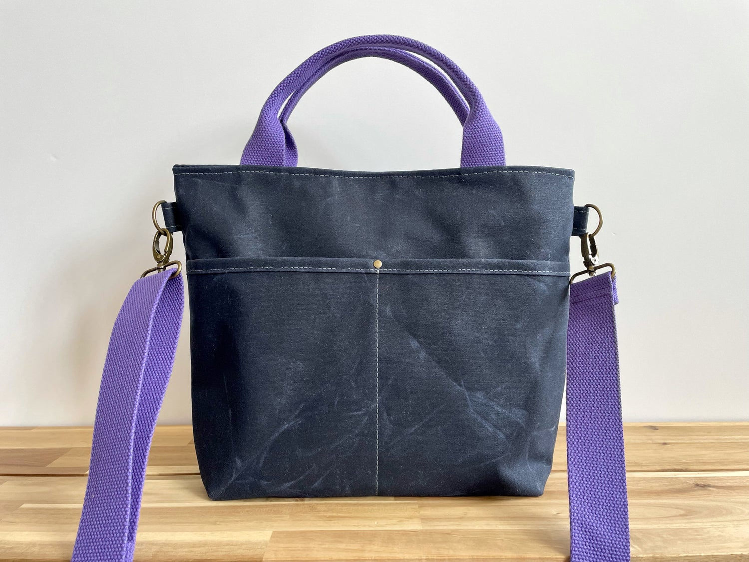 Image of PRE-ORDER Navy Crossbody Crafting Tote