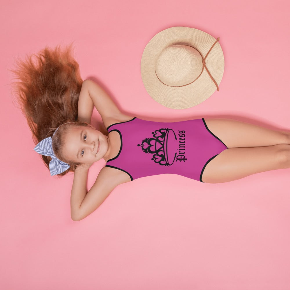 Image of All-Over Print Kids Swimsuit