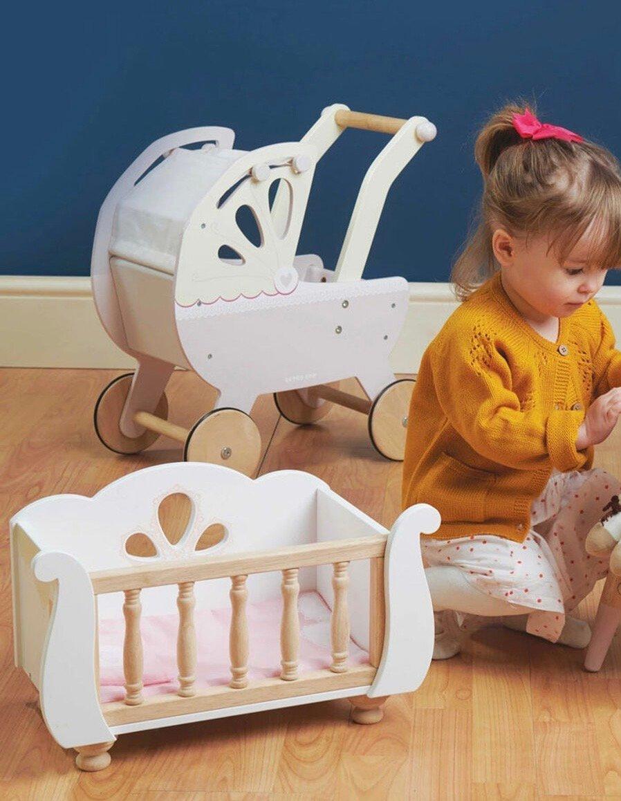 Image of Doll Playset bundle - Pram & Crib