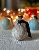 Marbled Ornaments - Joy