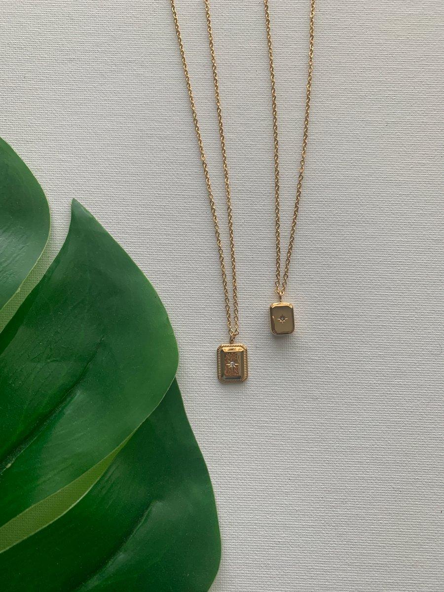 Image of BEST FRIEND • Gold Necklace Set