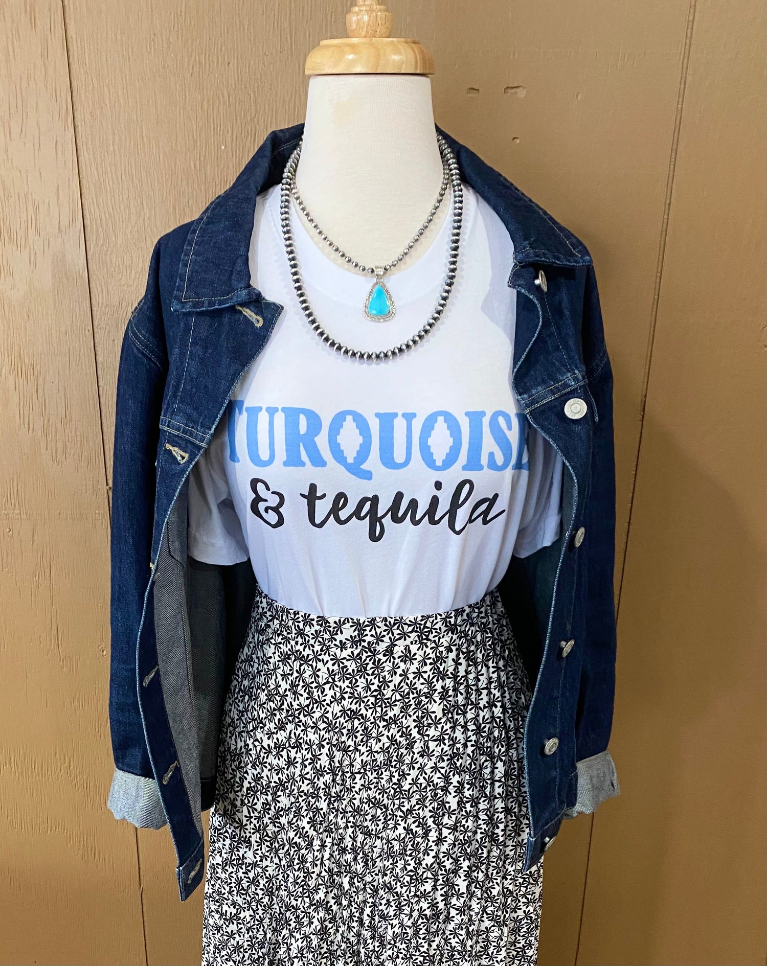 Turquoise & Tequila Shirt