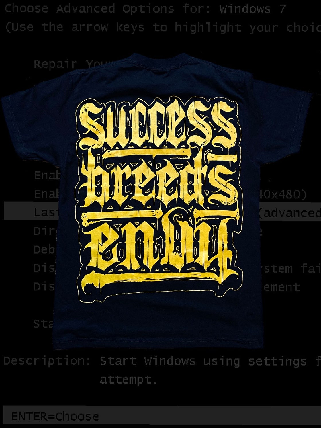 Image of SBE/ GOLD & BLK