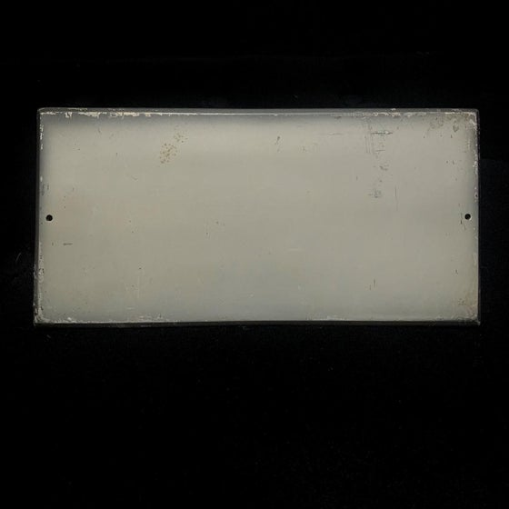 Image of Blank Coffin Plaque