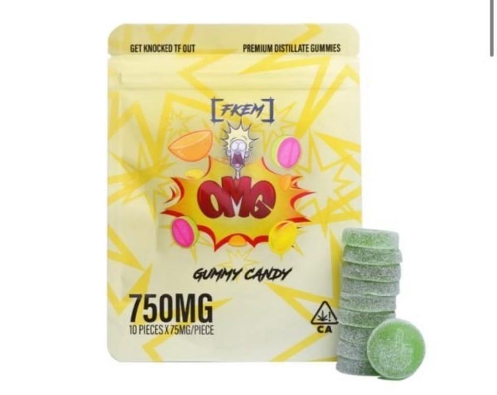 750mg OMG Gummies - FKEM