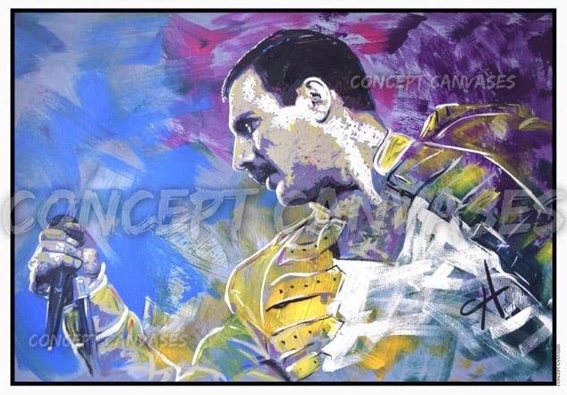 Image of Freddie A3 Print