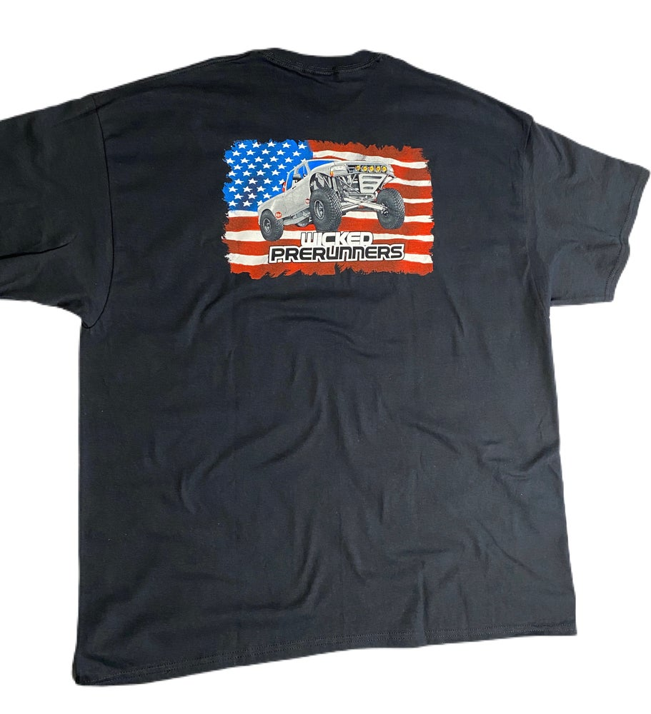Image of American Flag Tee Feat. Goofballs Obs Ford
