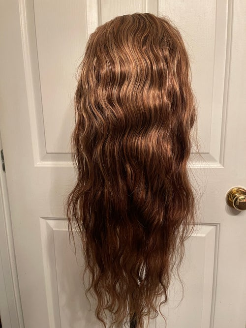 """Image of """"Blonde Ambition"""" 22 inch Body Wave wig with BLONDE highlights"""