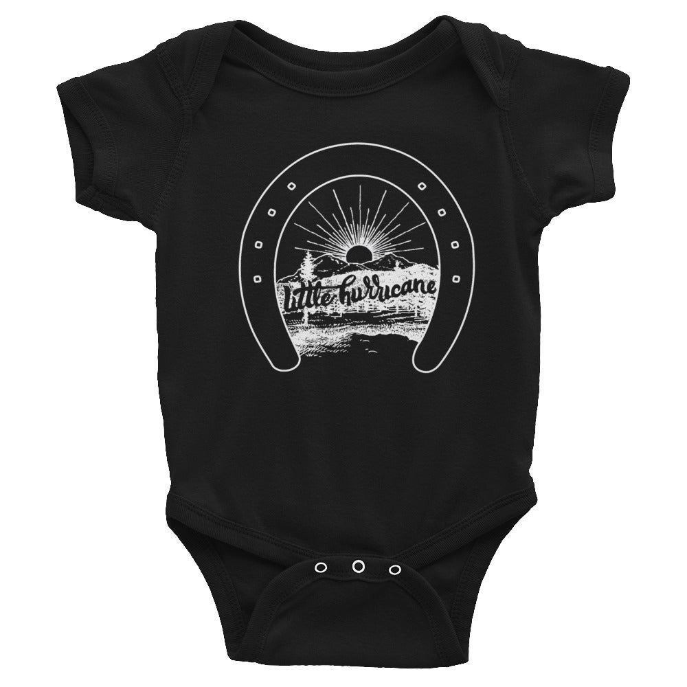 Image of Infant Bodysuit Lucky Little Hurricane