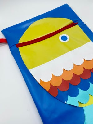 Image of Rainbow Fish Swimming Pouch