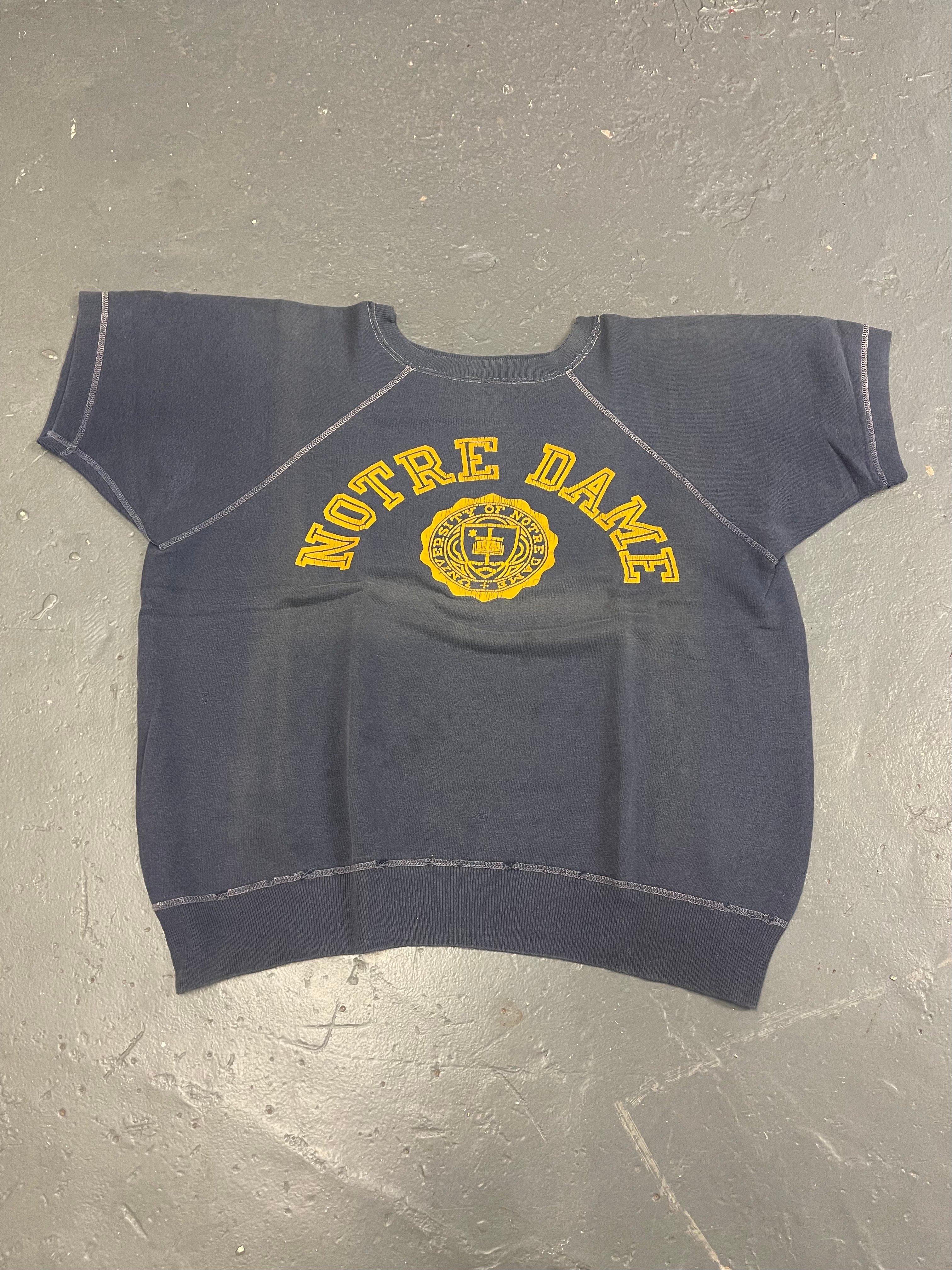 Image of 60s Notre Dame IVY S/S sweatshirt