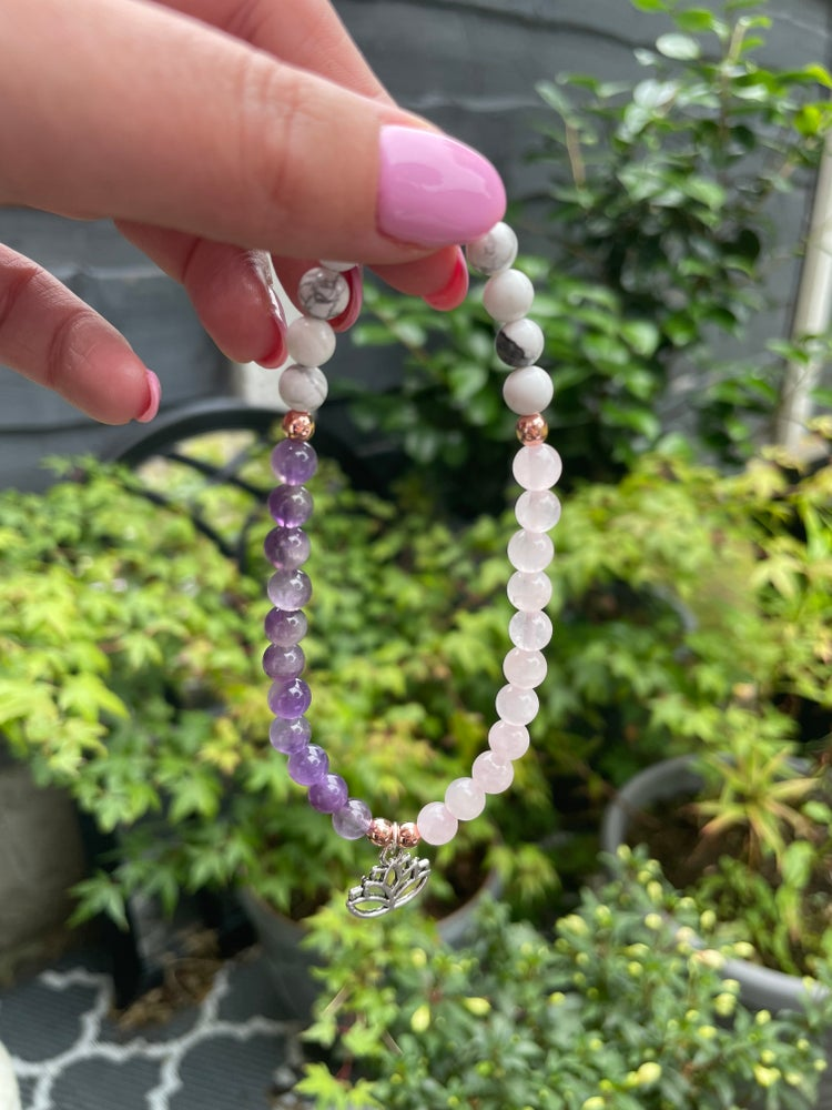 Image of Harmony Lotus Flower Bracelet/Anklet