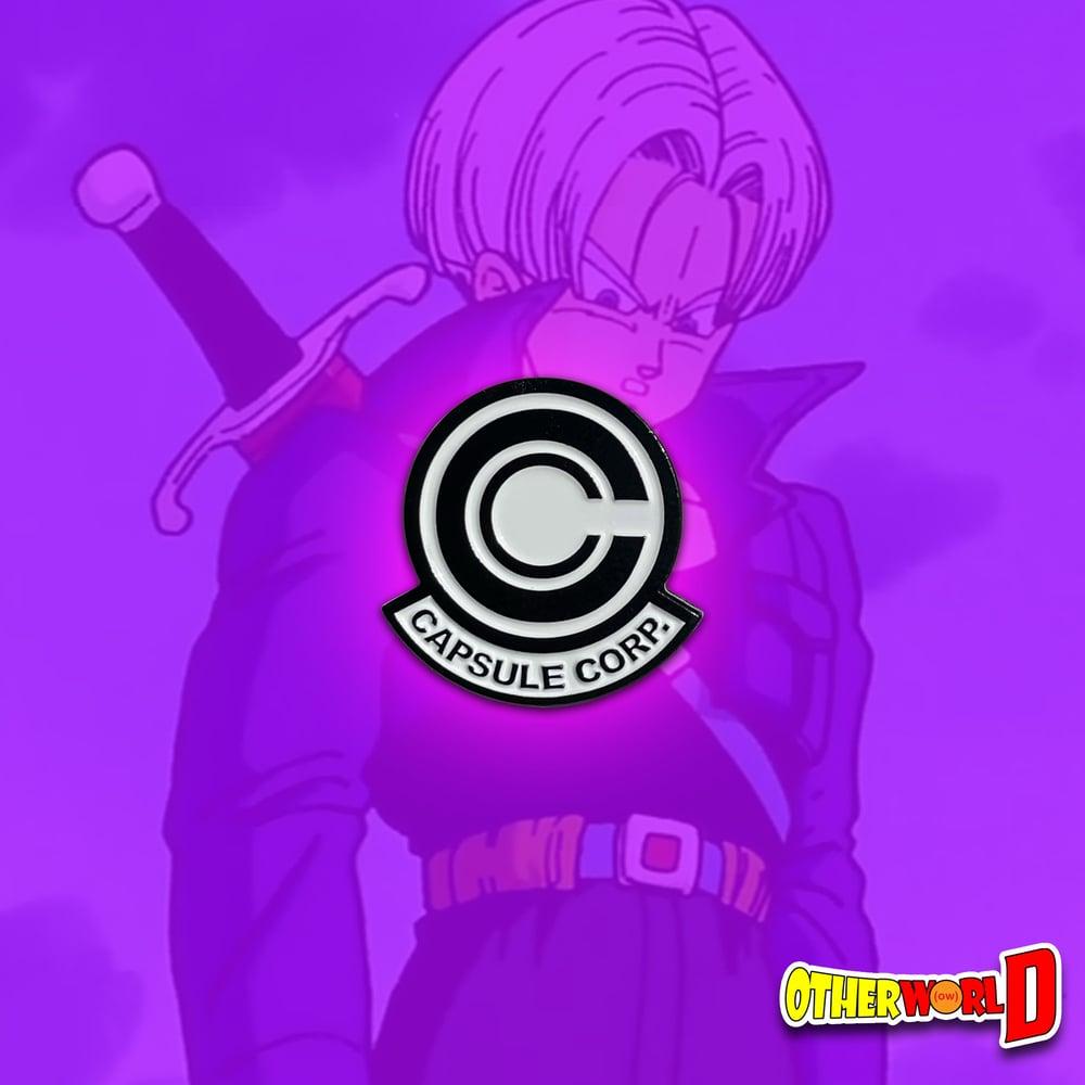Image of Capsule Corp Pin