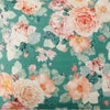 Kip & Co Peony Sage Linen Queen Fitted Sheet