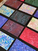 Marbled Pieces Pack - Bright Colors
